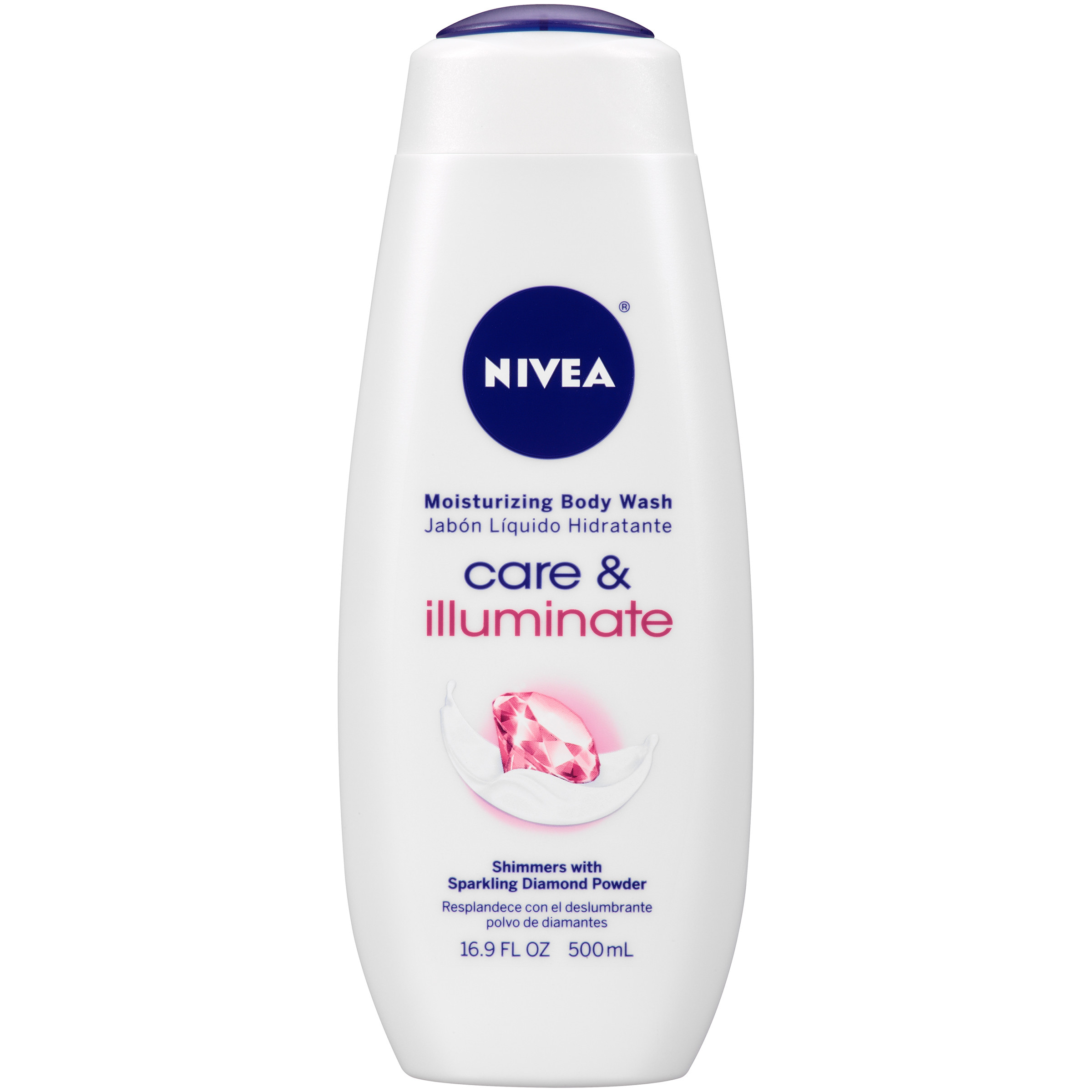 NIVEA Care and Illuminate Moisturizing Body Wash 16.9 fl. oz. - Walmart.com
