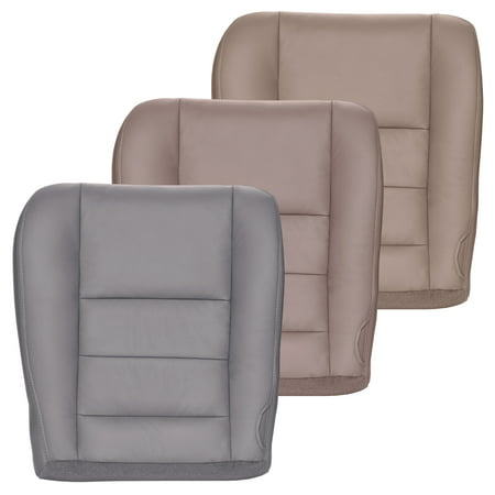 - The Seat Shop 2002-2007 Ford F250/F350 Lariat Crew Cab Seat Cover, Driver Bottom, Gray
