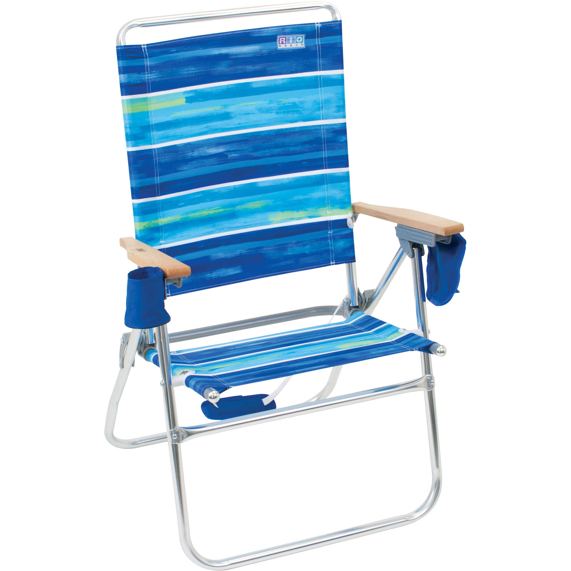 rio gear big guy backpack chair blue. rio deluxe hi-boy beach chair gear big guy backpack blue
