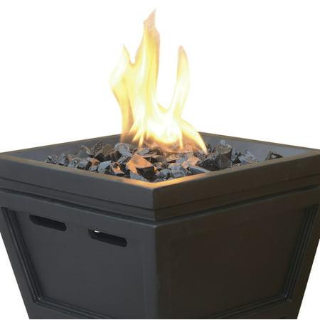 Uniflame Lp Gas Fire Pit Tabletop Column Best Tabletop