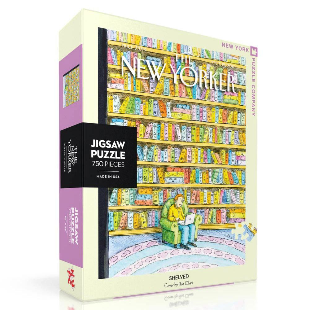 Shelved New Yorker 750 Piece Puzzle