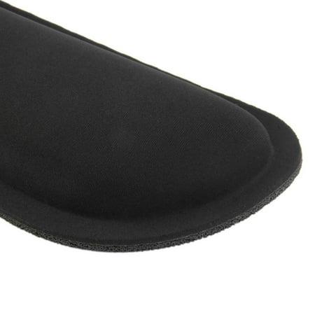 Desktop Anti Slip Black Gel Wrist Rest Support Comfort Pad for PC Computer Gaming Keyboard Raised Platform Hands - image 2 of 7