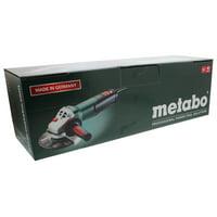 Metabo WEV15-125 HT 13.5 Amp 2800-9600 rpm Angle Grinder, High Torque