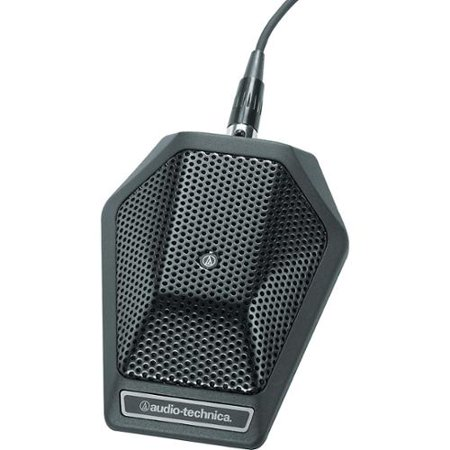 Roll over image to zoom inAudio Technica Unipoint Cardioid Condenser Boundary Microphone in Black
