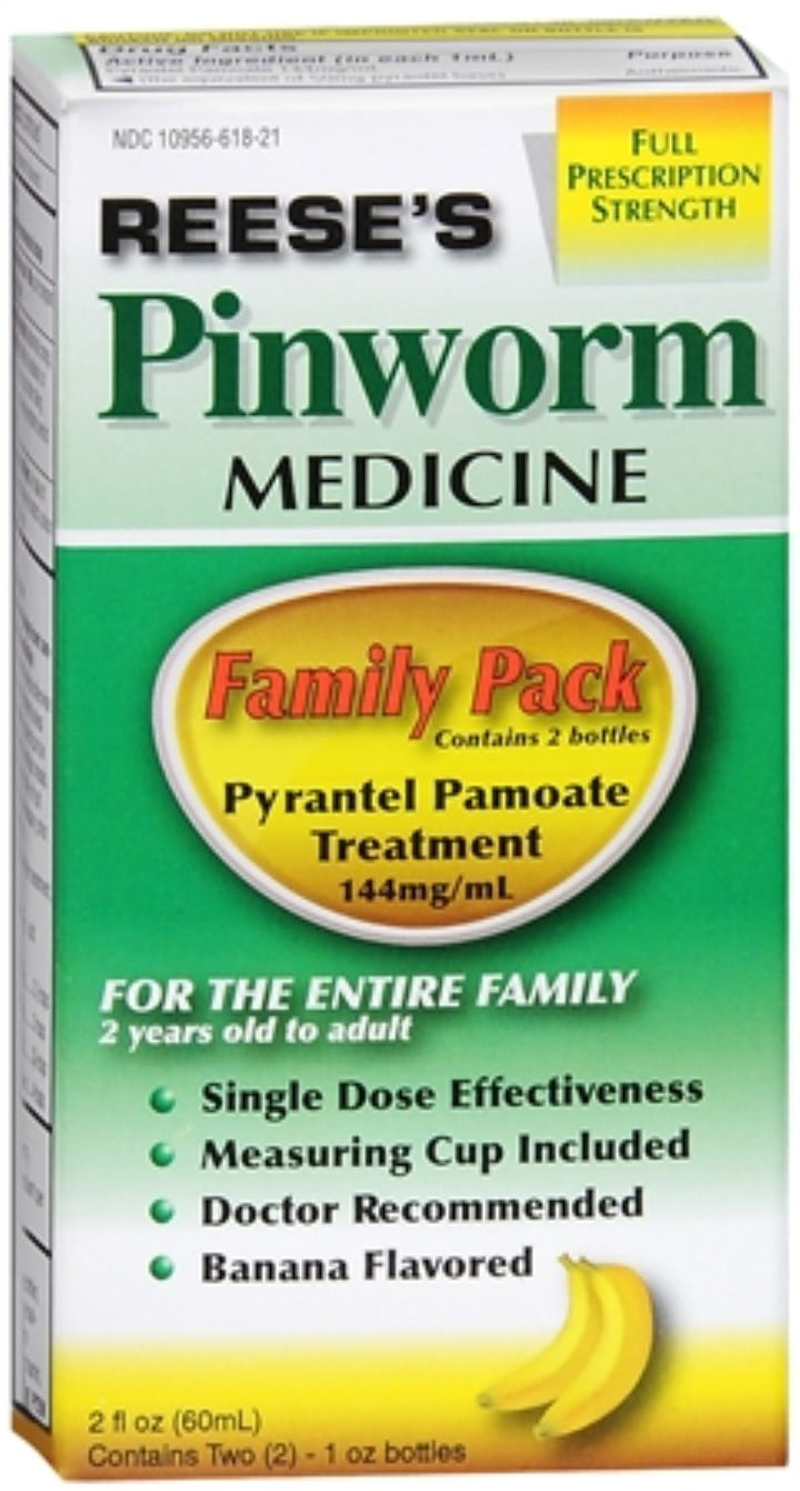 Reese's Pinworm Medicine 2 oz (Pack of 2) by