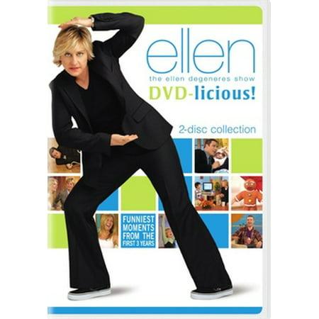 Ellen Degeneres Show: DVD-licious (DVD) (Ellen Degeneres Best Videos)