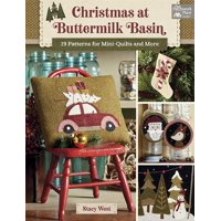 Christmas at Buttermilk Basin: 19 Patterns for Mini-Quilts and More (Paperback)