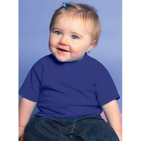 (Price/each)Rabbit Skins 3401 Infant T-Shirt-Royal-12M