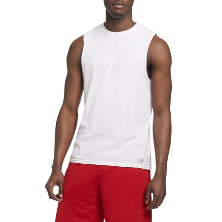 Big Men's Essential Dri-Power Muscle T-Shirt with 30+ UPF - Muscle T Shirts