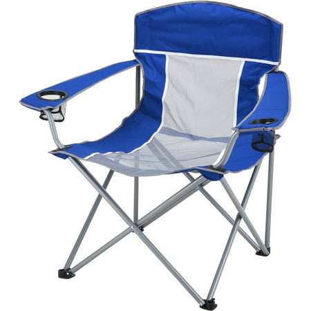 Ozark Trail XXL Steel Frame Comfort Mesh Chair with Carry Bag