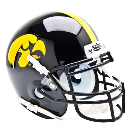 Shutt Sports NCAA Mini Helmet, Iowa Hawkeyes