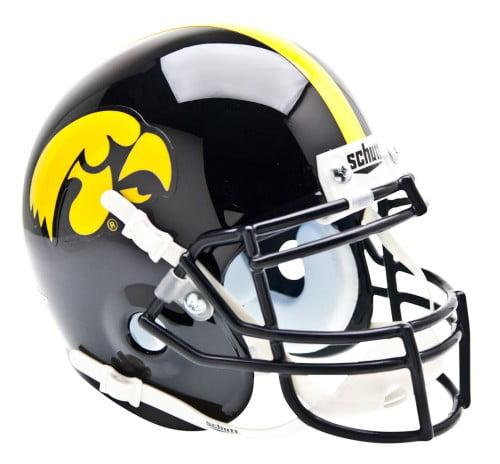 Shutt Sports NCAA Mini Helmet, Iowa Hawkeyes