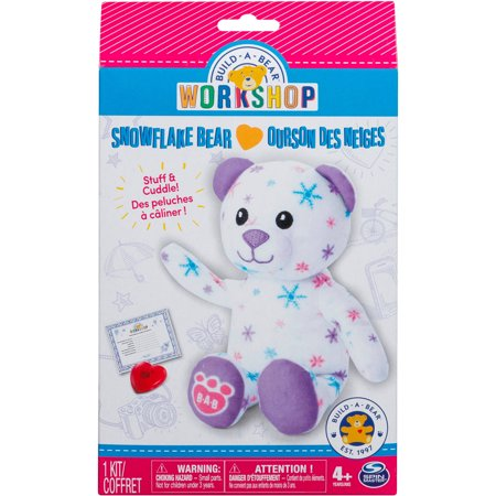 Build A Bear Workshop Furry Friends Snowflake Bear