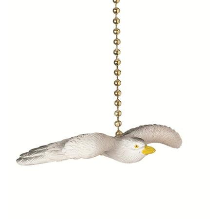 Flying Seagull Decorative Ceiling Fan Light Dimensional