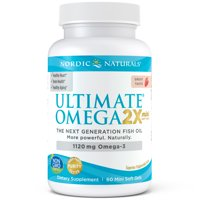 Nordic Naturals Ultimate Omega 2x Mini Softgels, 1120 mg, 60 ct