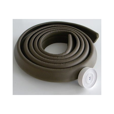 KidCo 10 Foot Foam Edge Protector - Brown (Brown Edge)