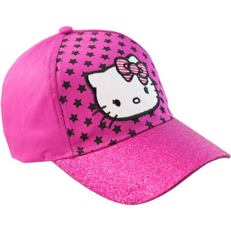 Hello Kitty - Hello Kitty Girls  Baseball Hat - Walmart.com 213ad11adb2