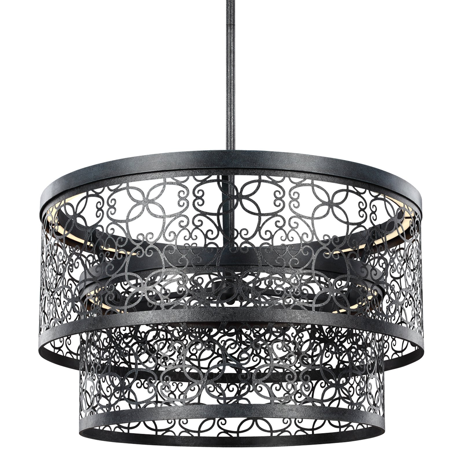 Feiss Arramore F3098 2DWZ-LED Outdoor Pendant Light by Feiss