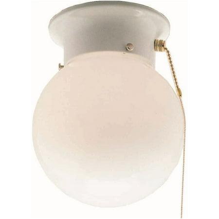 Volume Lighting V6908 White 1 Light 6