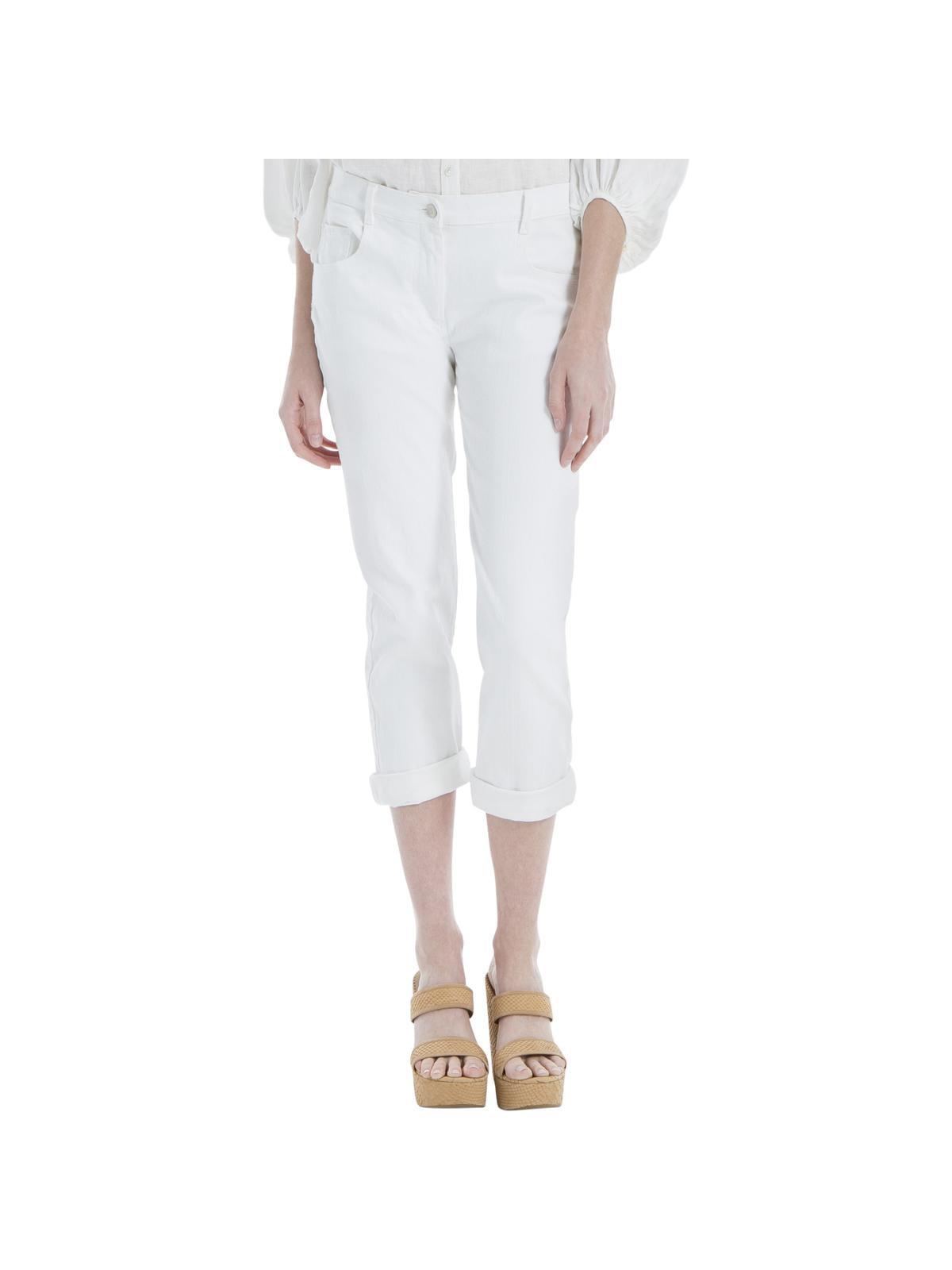 Max Studio Womens Twill Mid-Rise Skinny Jeans