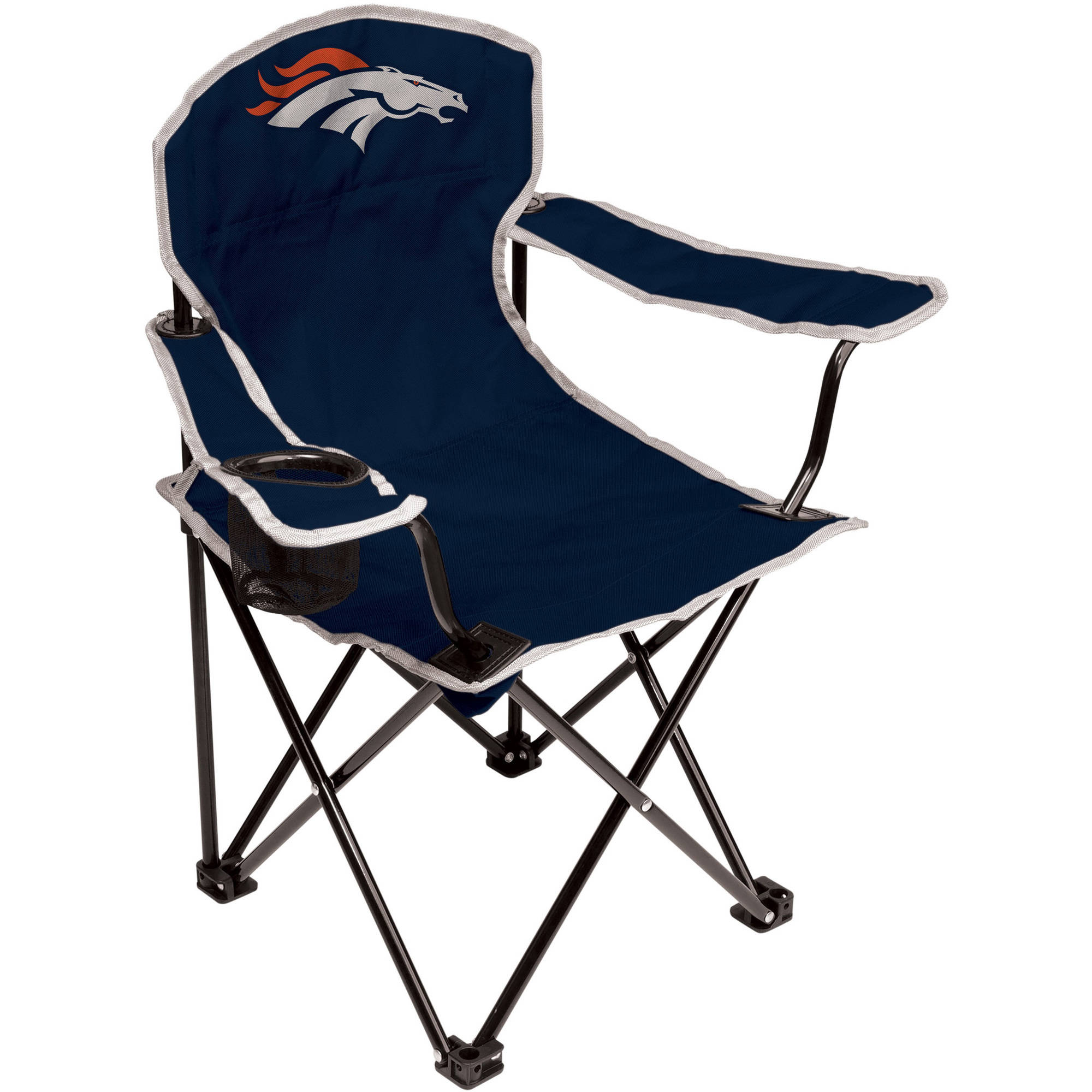 NFL Denver Broncos Youth Size Tailgate Chair from Coleman by Rawlings by Rawlings