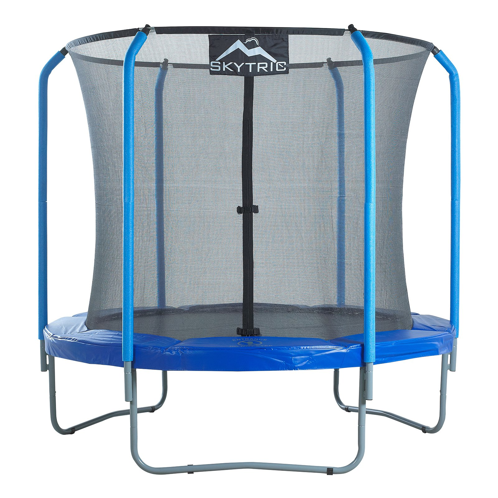 Upper Bounce 8 ft. Trampoline with Top Ring Enclosure