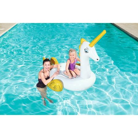 H2OGO! Fantasy Unicorn Rider Inflatable Pool - Inflatable Unicorn Head