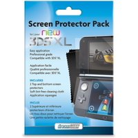 Dream Gear Screen Protector Pack for New Nintendo 3DS XL