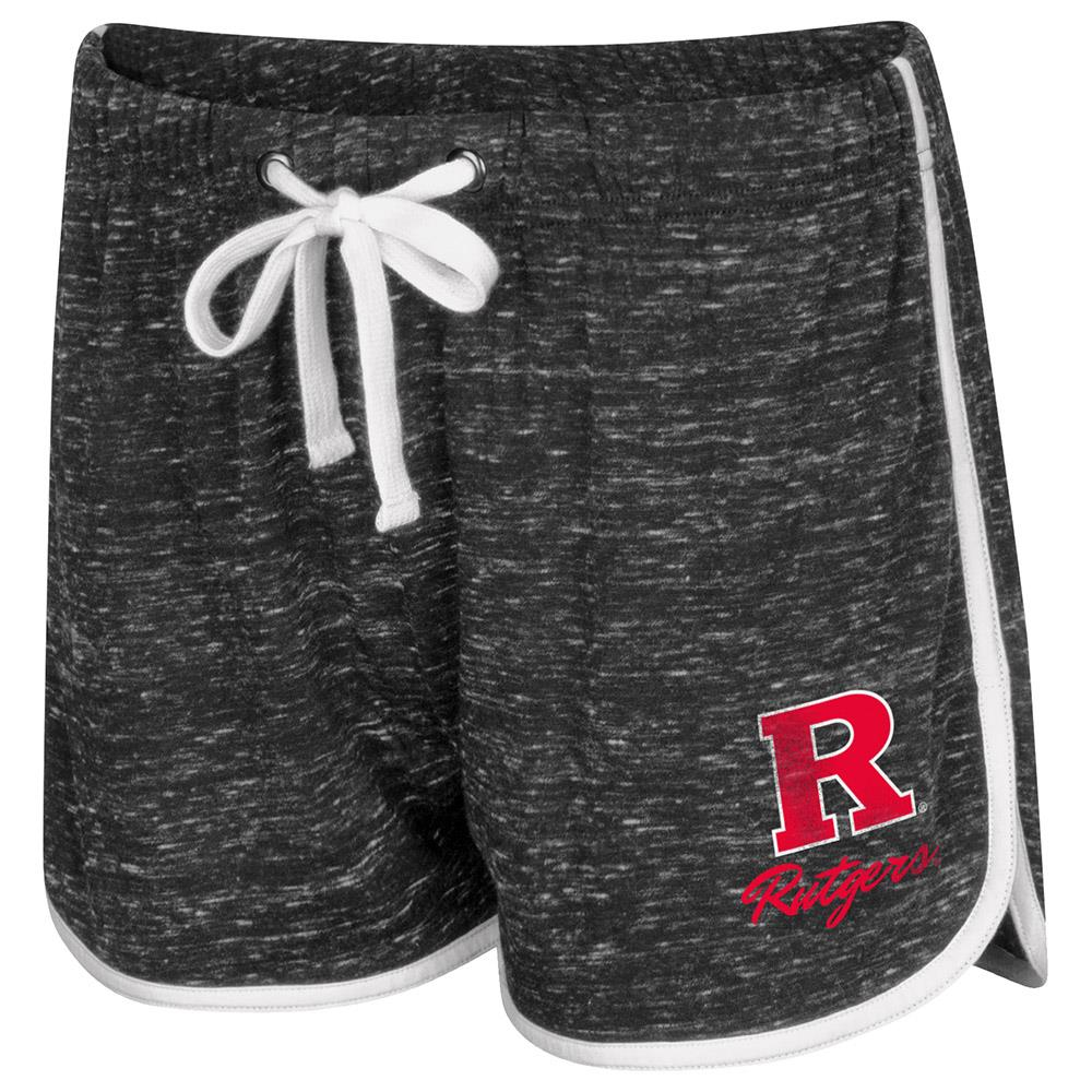 Womens Rutgers Scarlet Knights Gym Shorts - S