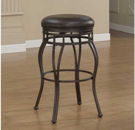 American Woodcrafters Villa Backless Stool - (Tall Bar Stool)