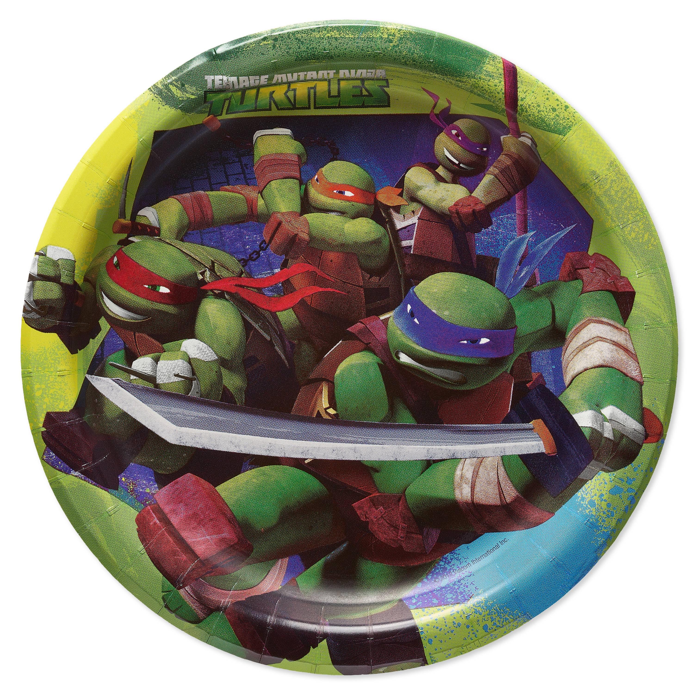 """7"""" Teenage Mutant Ninja Turtle Paper Dessert Plates, 8-Count"""