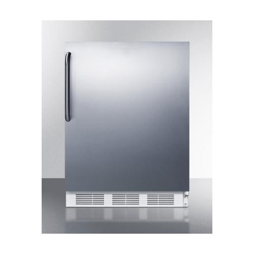AccuCold ALB751SSTB ; ADA Compliant Right Hinge Compact Refrigerator