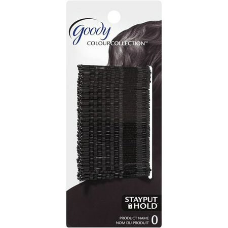 (2 Pack) Goody Colour Collection Bobby Pins, Black, 48 count