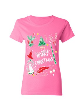 3c37859a Product Image Harry Potter Muggles Hogwarts Sweater Funny Lightning Women's  T-shirt Funny Christmas Tee Black Small. Zexpa Apparel