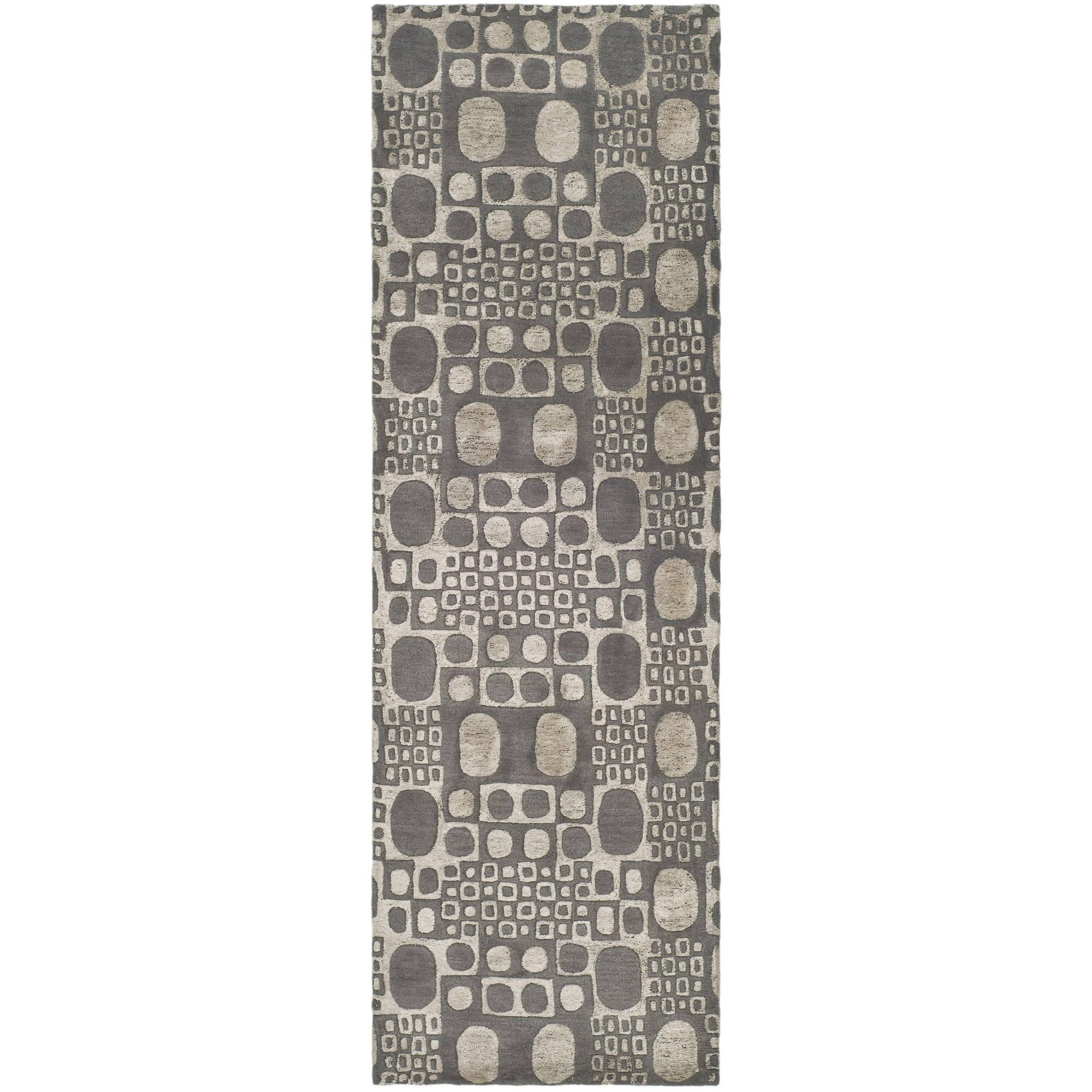 Safavieh Soho Gabi Wool Runner Rug, Grey, 2.5' x 8'