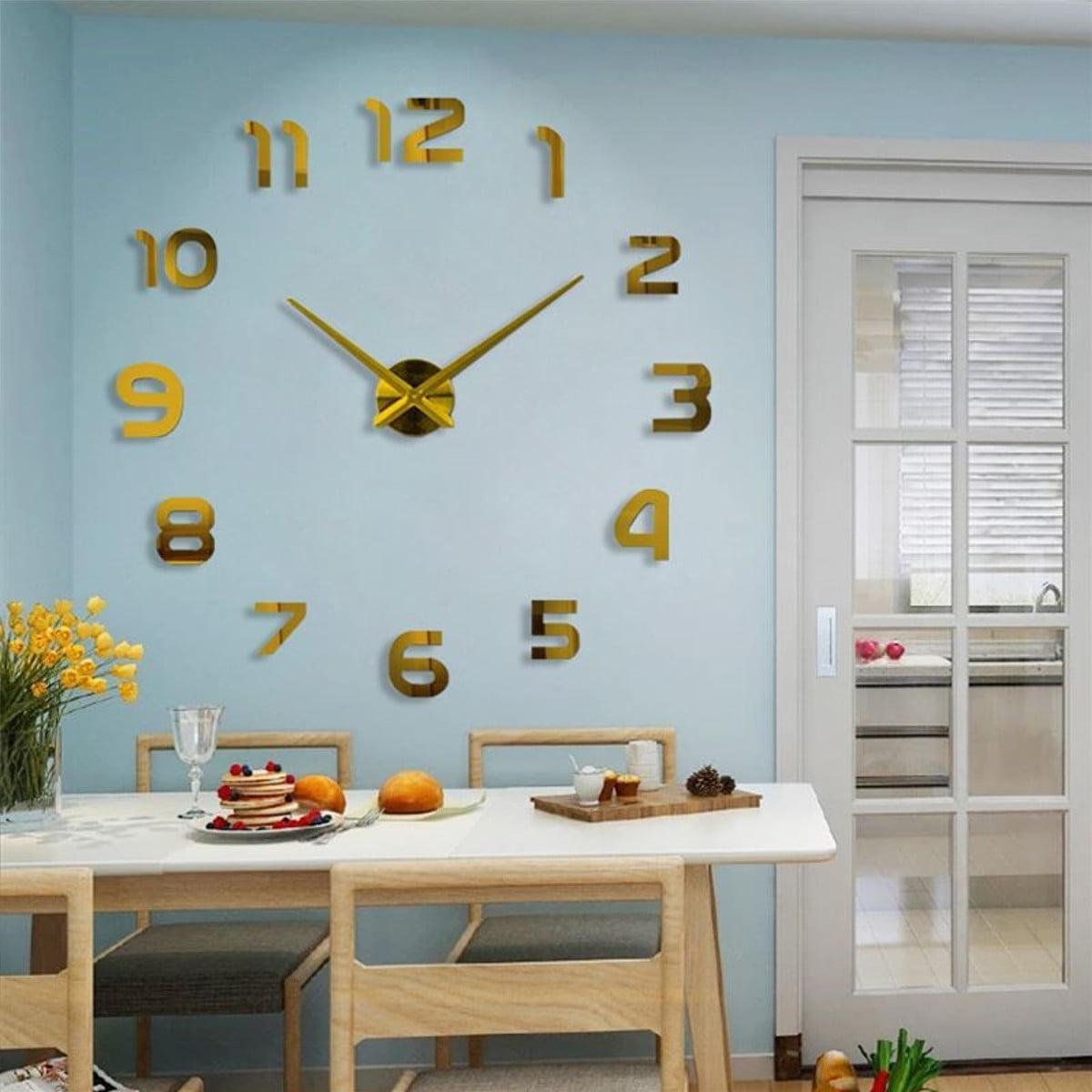 Mirror Wall Sticker Diy Home Decor