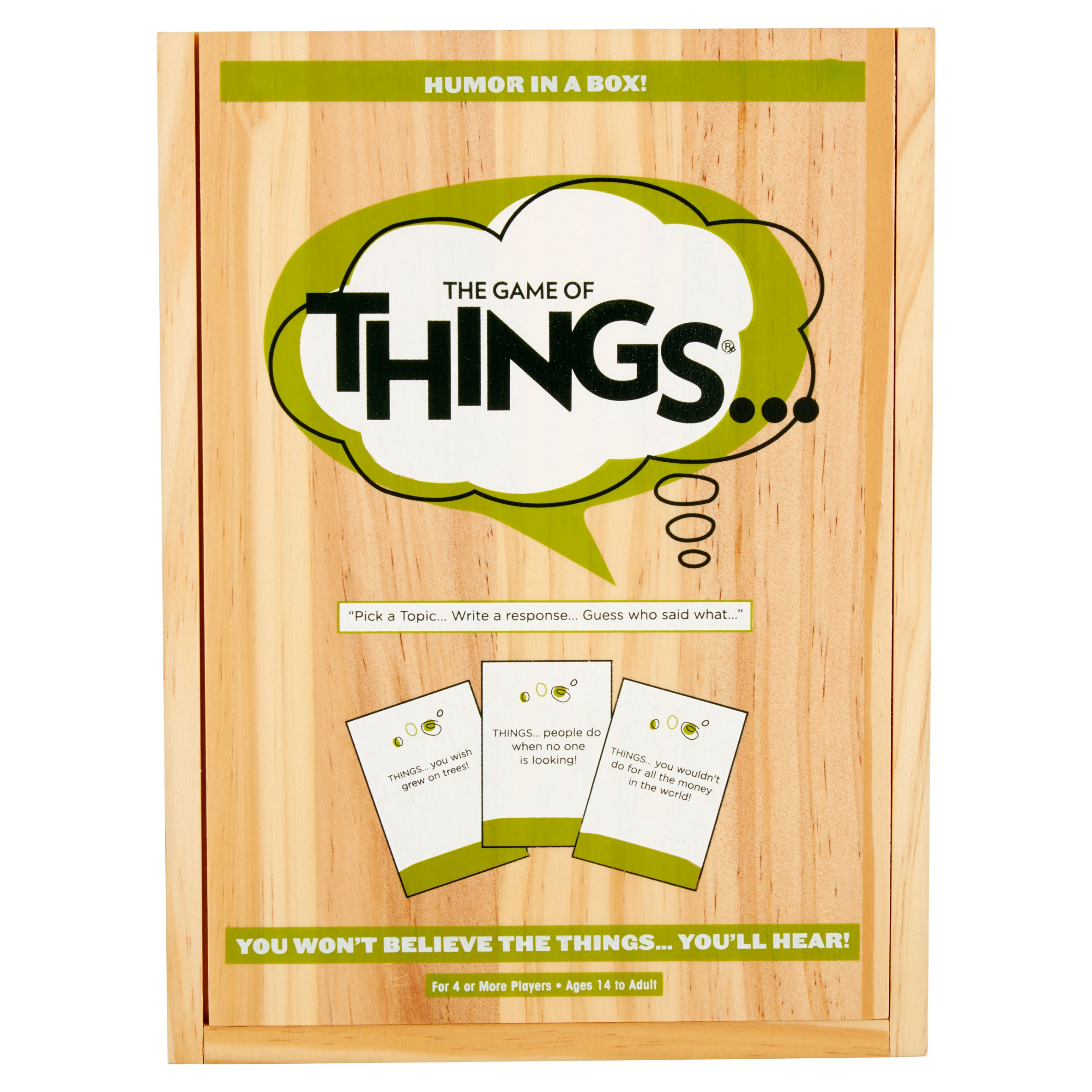 The Game of Things Humor in a Box! Ages 14 to Adult