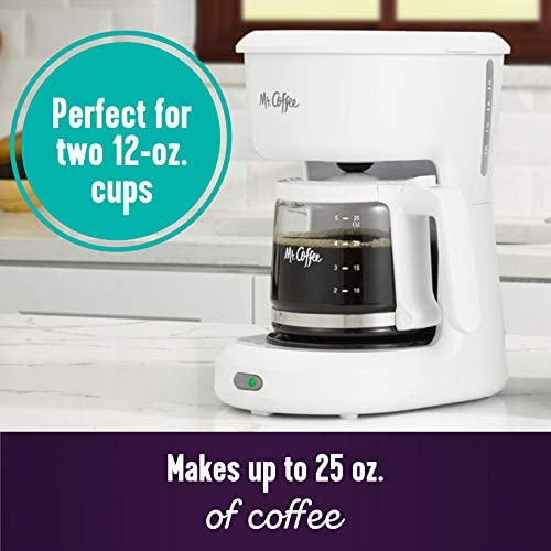 Coffee 5-Cup White Switch Coffee Maker 2134286-1 Each Mr