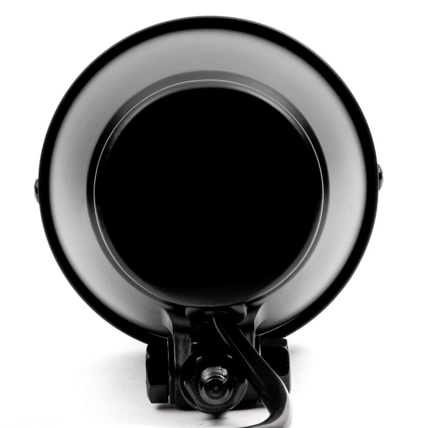"Krator 4.25"" Mini Headlight w/ High and Low Beam + Fog Lights LED Bulb Black Housing for Yamaha Raider S XV 1900 XV1900 - image 3 de 8"