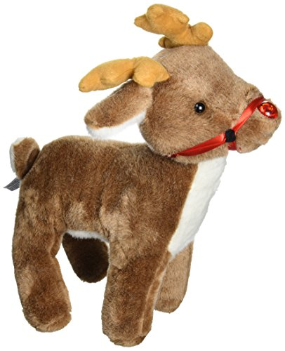 Beverly Hills Teddy Bear Company Singing Red Nose Reindeer