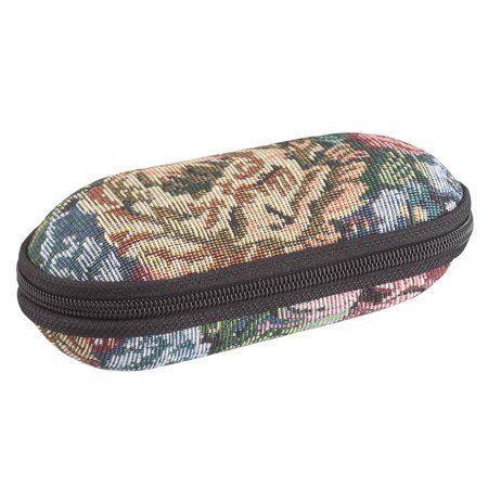 (Double Tapestry Eyeglass Case)