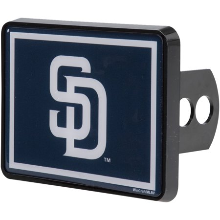 San Diego Padres WinCraft Universal Rectangle Hitch Cover - No Size