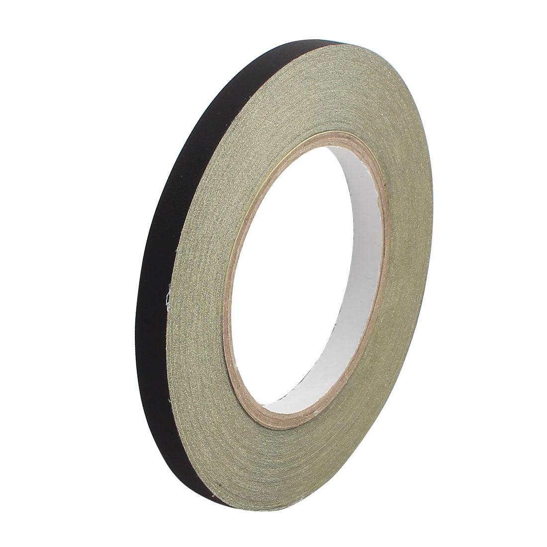 10mm Width Black Insulating Acetate Cloth Adhesive Tape For Laptop Transformer - image 3 de 3