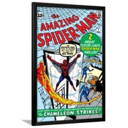 Amazing Spider-Man No.1 Cover: Spider-Man Framed Print Wall Art By Steve Ditko