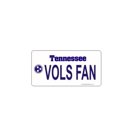 Design It Yourself Custom Tennessee Plate. Free Personalization on Plate - image 1 of 1