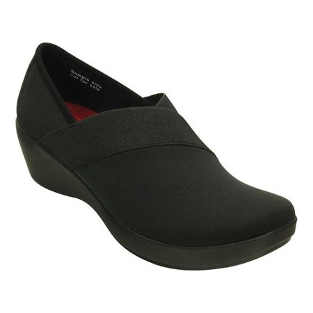 Crocs Women's Busy Day Stretch Asym Wedge Shoes