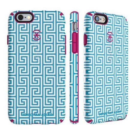 cheaper 6bfd1 4fc24 Speck CandyShell Inked Jonathan Adler Case for iPhone 6 6s AquaGreek Key