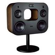 "Fluance Fi70B Three-Way Wireless High Fidelity Music System with Powerful Amplifier & Dual 8"" Subwoofers (Natural Walnut)"