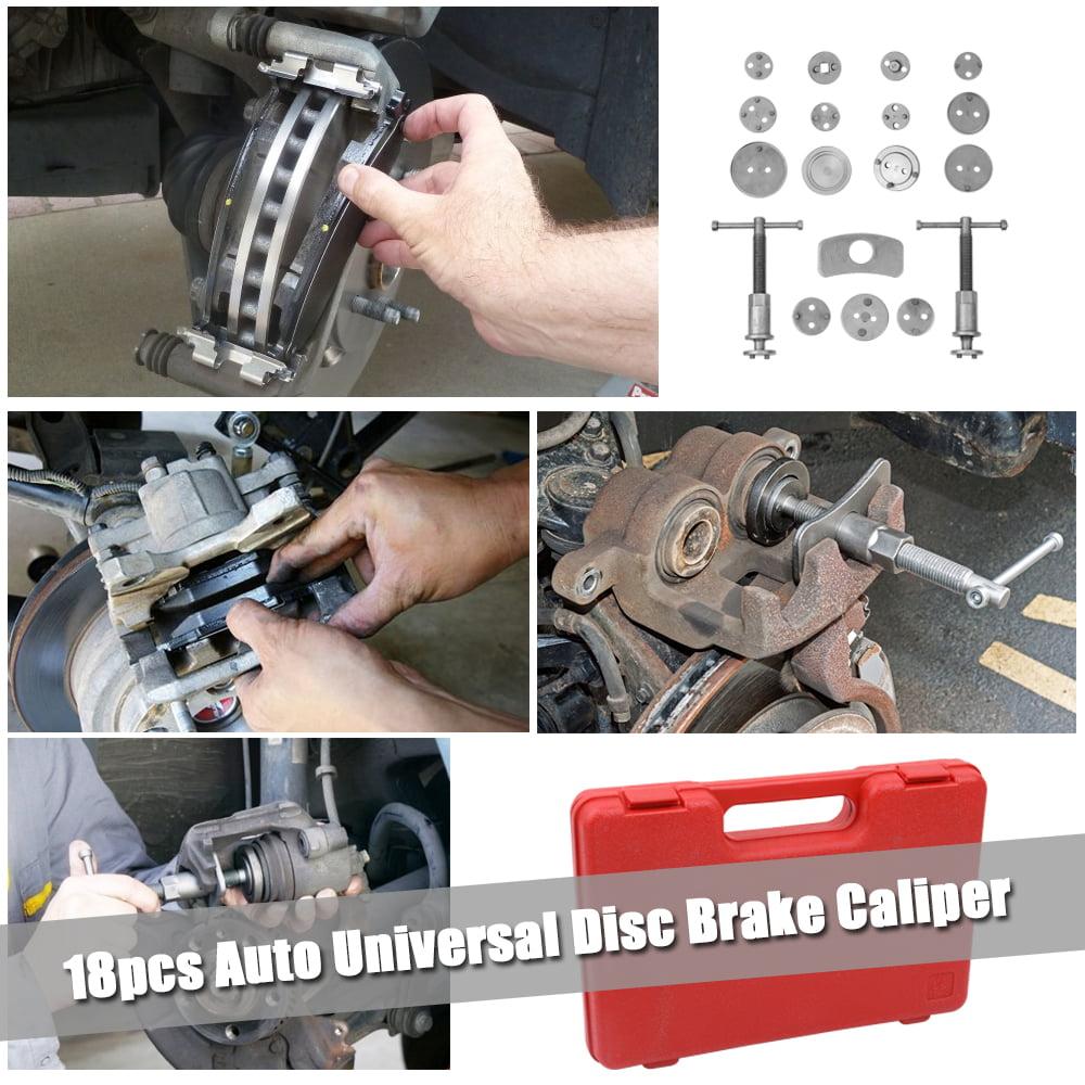 Universal Disc Brake Caliper Tool Piston Pad Car Auto Wind Back Hand Tool Kit