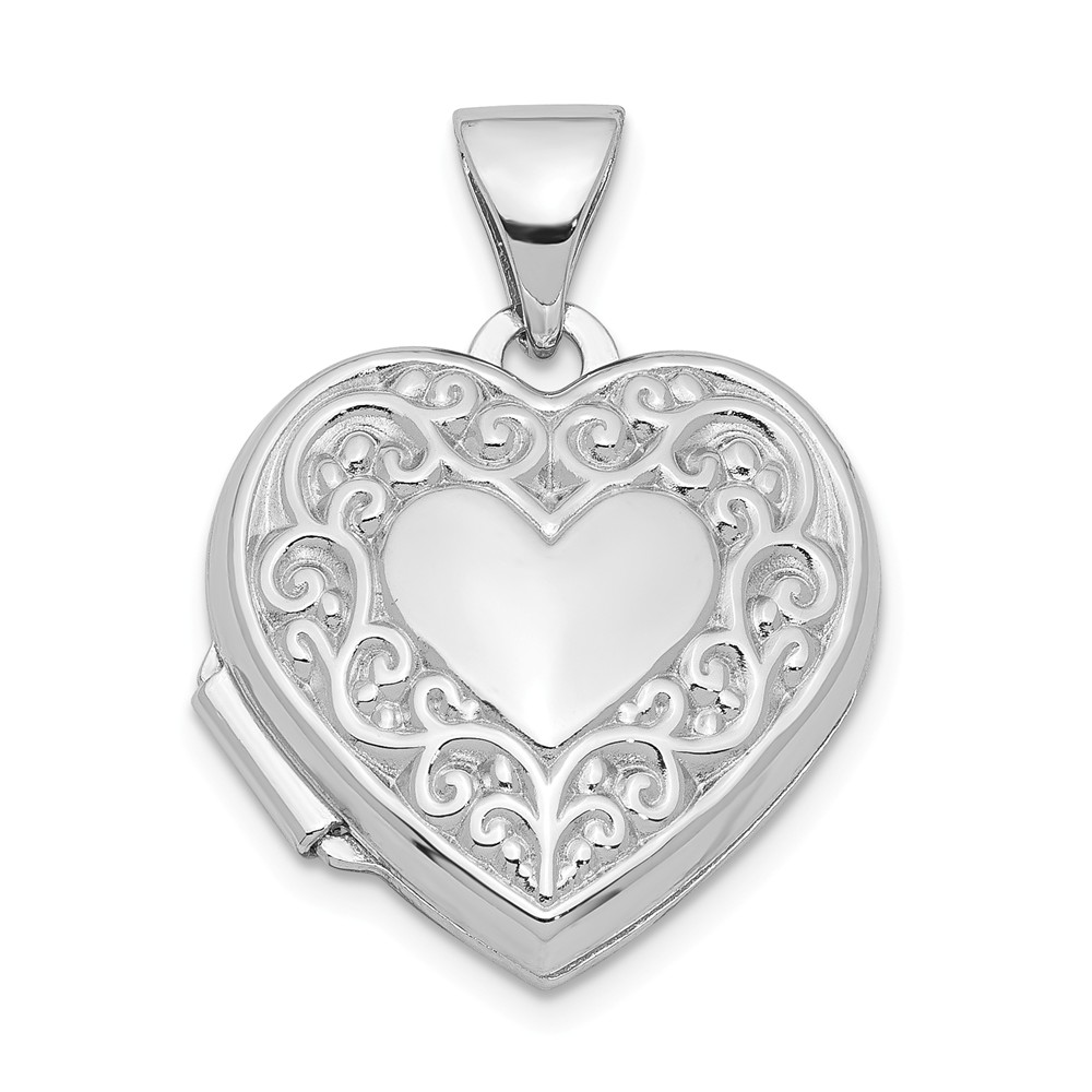 Sterling Silver 31mm Heart Locket